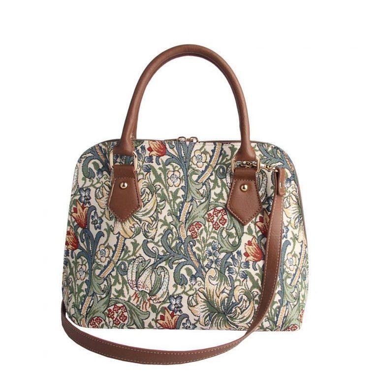 William Morris Convertible Bag – Golden Lily